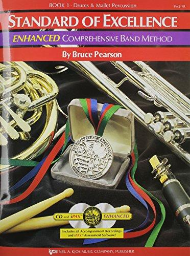 Comprehensive Band Method, Drums & Mallet Percussion, Book 1 w/ 2 CDs. (Standard of Excellence)