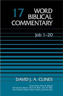Word Biblical Commentary Job 1-20