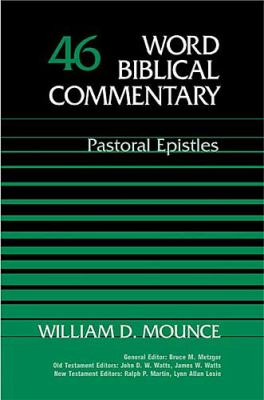 Word Biblical Commentary Pastoral Epistles