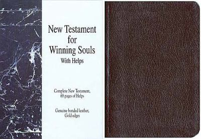 Classic Soul Winners New Testament: King James Version (KJV), black bonded leather