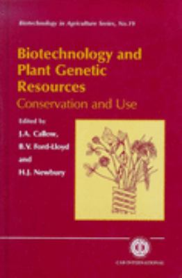 Biotechnology and Plant Genetic Resources Conservation and Use