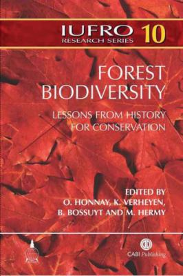 Forest Biodiversity Lessons from History for Conservation