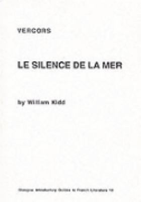 Silence de la Mer, Vercors: Critical Monographs in English