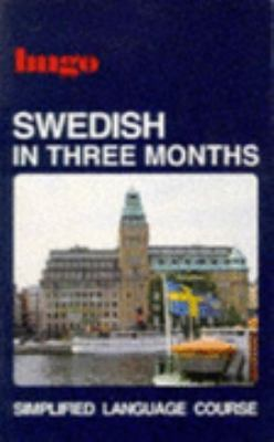 Swedish in Three Months - Peter Graves - Paperback - NEW