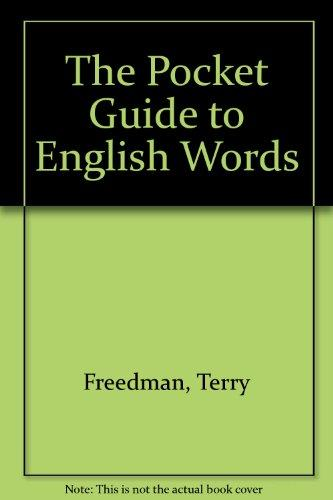 The Pocket Guide to English Words