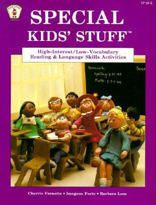 Special Kids' Stuff: High-Interest/Low-Vocabulary Reading and Language Skills Activities - Cherrie Farnette - Paperback - REVISED