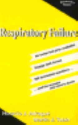 Respiratory Failure - Horacio J. Adrogue - Paperback