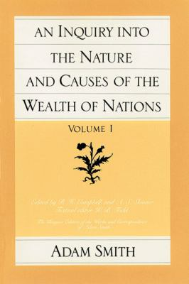 Inquiry Into Nature+causes of Wlth..-v1