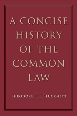 Concise History of the Common Law