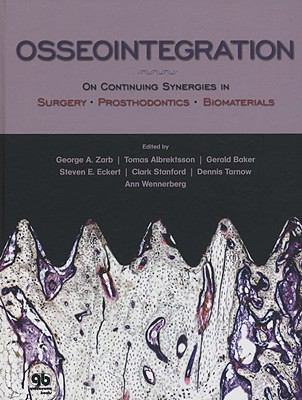 Osseointegration: On Continuing Synergies in Surgery, Prosthodontics, and Biomaterials