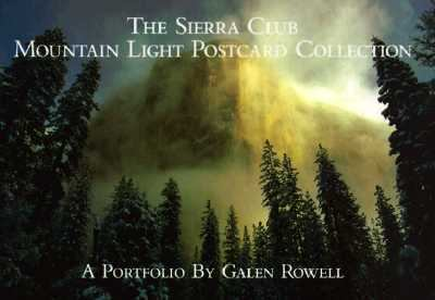 Sierra Club Mountain Light Postcard Collection