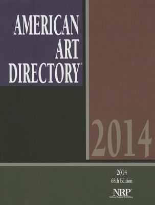 American Art Directory 68th Edition 2014