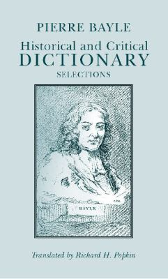 Historical and Critical Dictionary Selections