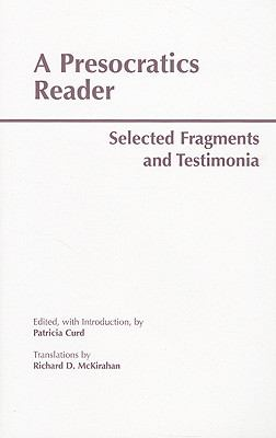 Presocratics Reader
