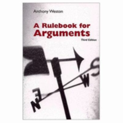 Rulebook for Arguments