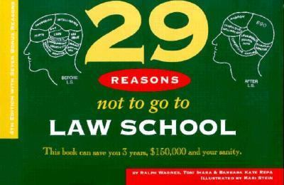 29 Reasons Not to Go to Law School