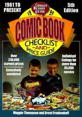 1999 Comic Book Checklist and Price Guide
