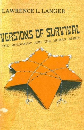 Versions of Survival (Modern Jewish Literature and Culture)