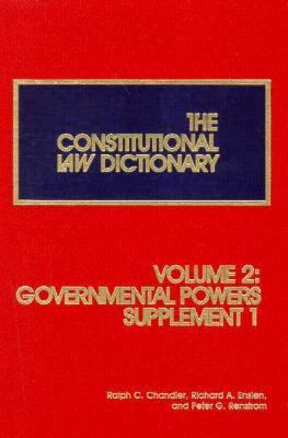 The Constitutional Law Dictionary, Volume 2