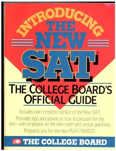 Introducing the New SAT: The College Board's Official Guide (1993)
