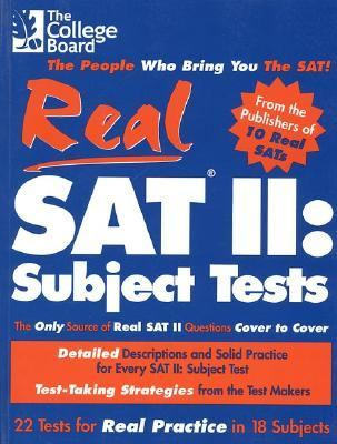Real Sat II Subject Tests