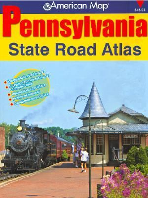 American Map Pennsylvania State Road Atlas