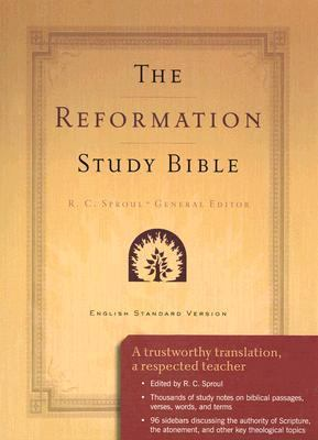 Reformation Study Bible Burgundy