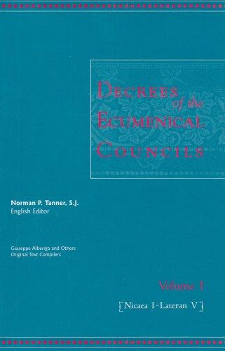 Decrees of the Ecumenical Councils 2 Volume Set