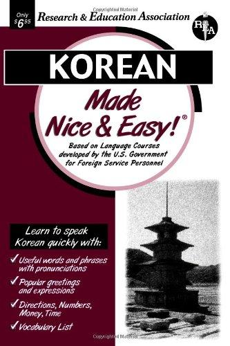 Korean Made Nice & Easy (Language Learning)