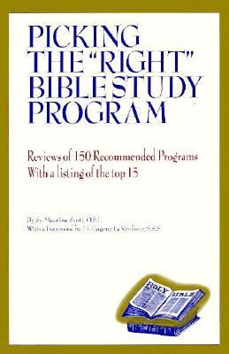 "Picking the ""Right"" Bible Study Program"