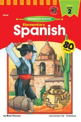 Elementary Spanish Level 2 Homework Booklet