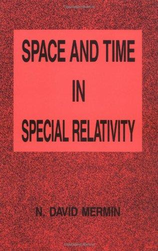 Space and Time in Special Relativity