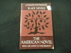 American Novel: Sinclair Lewis to the Present