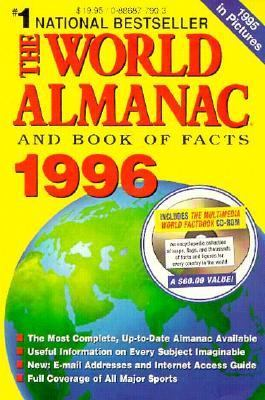 World Almanac and Book of Facts 1996 (With CD ROM)