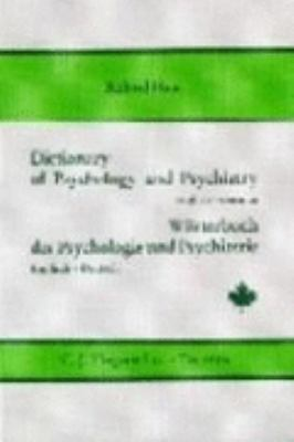 Dictionary of Psychology and Psychiatry English-German