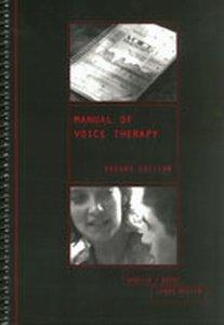 Manual of Voice Therapy