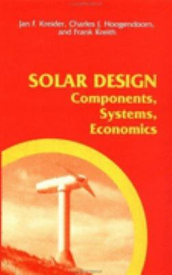 Solar Design Components, Systems, Economics