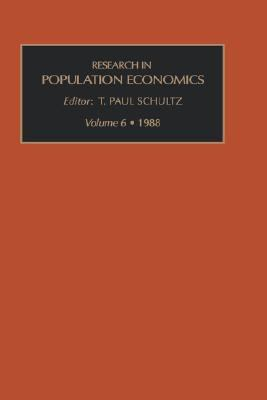 Research in Population Economics A Research Annual, 1988