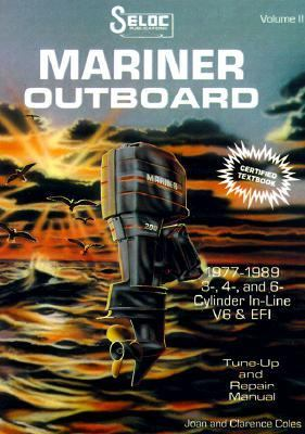 Mariner Outboard 1977-89, Repair Manual 3, 4 and 6 Cylinder