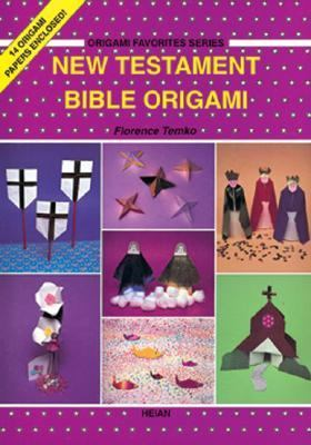 New Testament Bible Origami/14 Origami Papers Enclosed