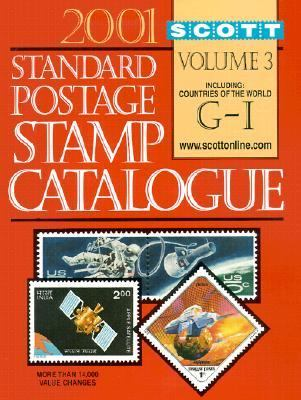 Scott Standard Postage 2001, Vol. 3
