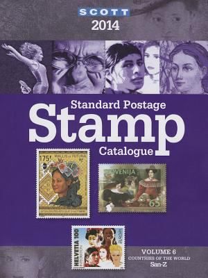 Scott Standard Postage Stamp Catalogue 2014: Countries of the World San-Z (Scott Standard Postage Stamp Catalogue Vol 6 San-Z)