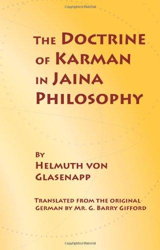 The Doctrine of Karman in Jaina Philosophy