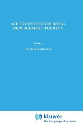 Acute Continuous Renal Replacement Therapy