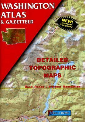 Washington Atlas: Detailed Topographic Maps, Back Roads, Outdoor Recreation