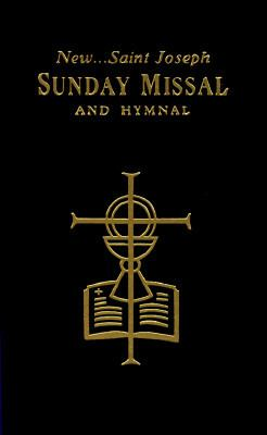 New Saint Joseph Sunday Missal & Hymnal/Black/No. 820/22-B