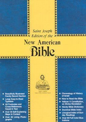 New American Bible Deluxe Edition, Red Bonded Leather, Gold Paging,Large Print/No. 609/13R