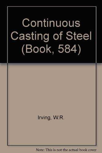 Continuous casting of steel (Book, 584)