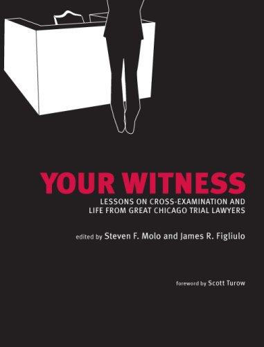 Your Witness: Lessons on Cross-Examination