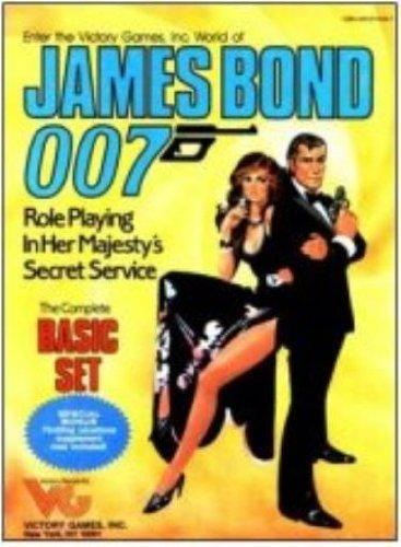 James Bond 007: Role Playing in Her Majesty's Secret Service (Basic Kit)
